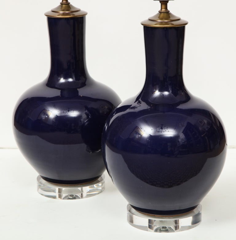 Pair of Chinese Vase Lamps For Sale 1