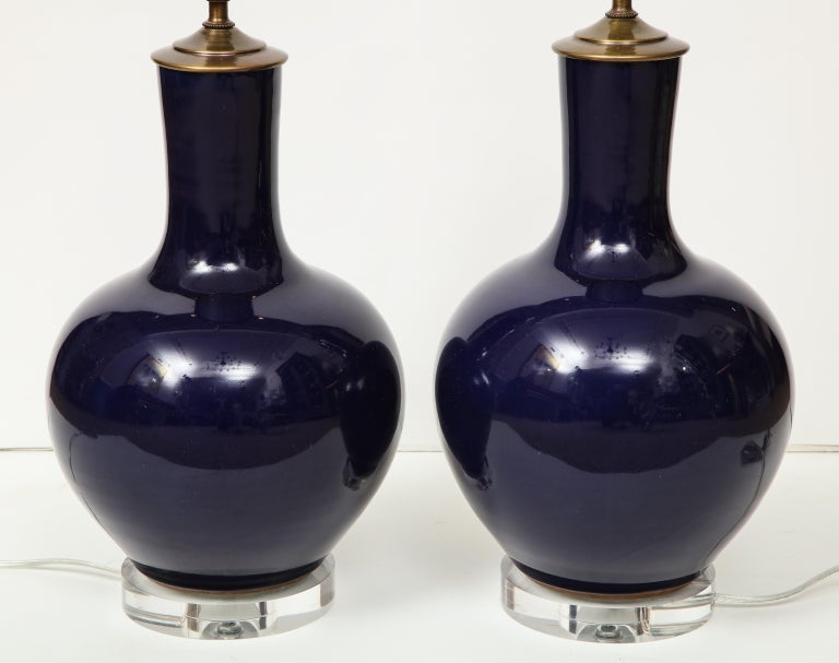 Pair of Chinese Vase Lamps For Sale 2