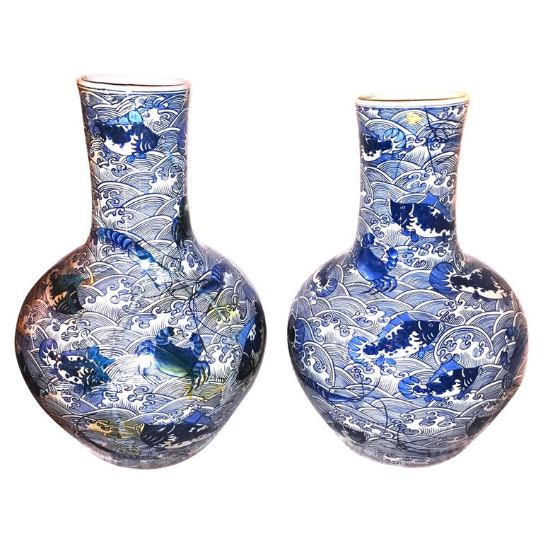 Pair of Chinese Vases, China, Early 20th Century For Sale