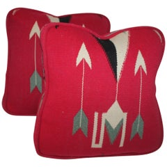Pair of Chinley Indian Weaving Cushions