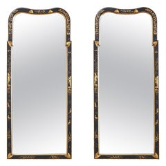Glass Pier Mirrors and Console Mirrors