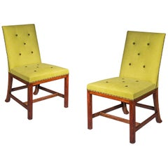 Pair of Chippendale Side Chairs, 19th Century