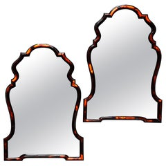 Pair of Chippendale Style Horn Mirror