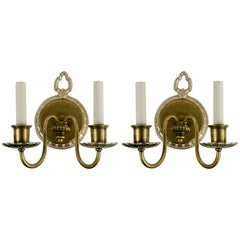 Pair of circa 1920s Two-Arm Sconce