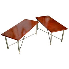 Pair of Circa 1940 French Accent Tables