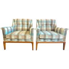 Pair of Classic Henredon Heritage Armchairs