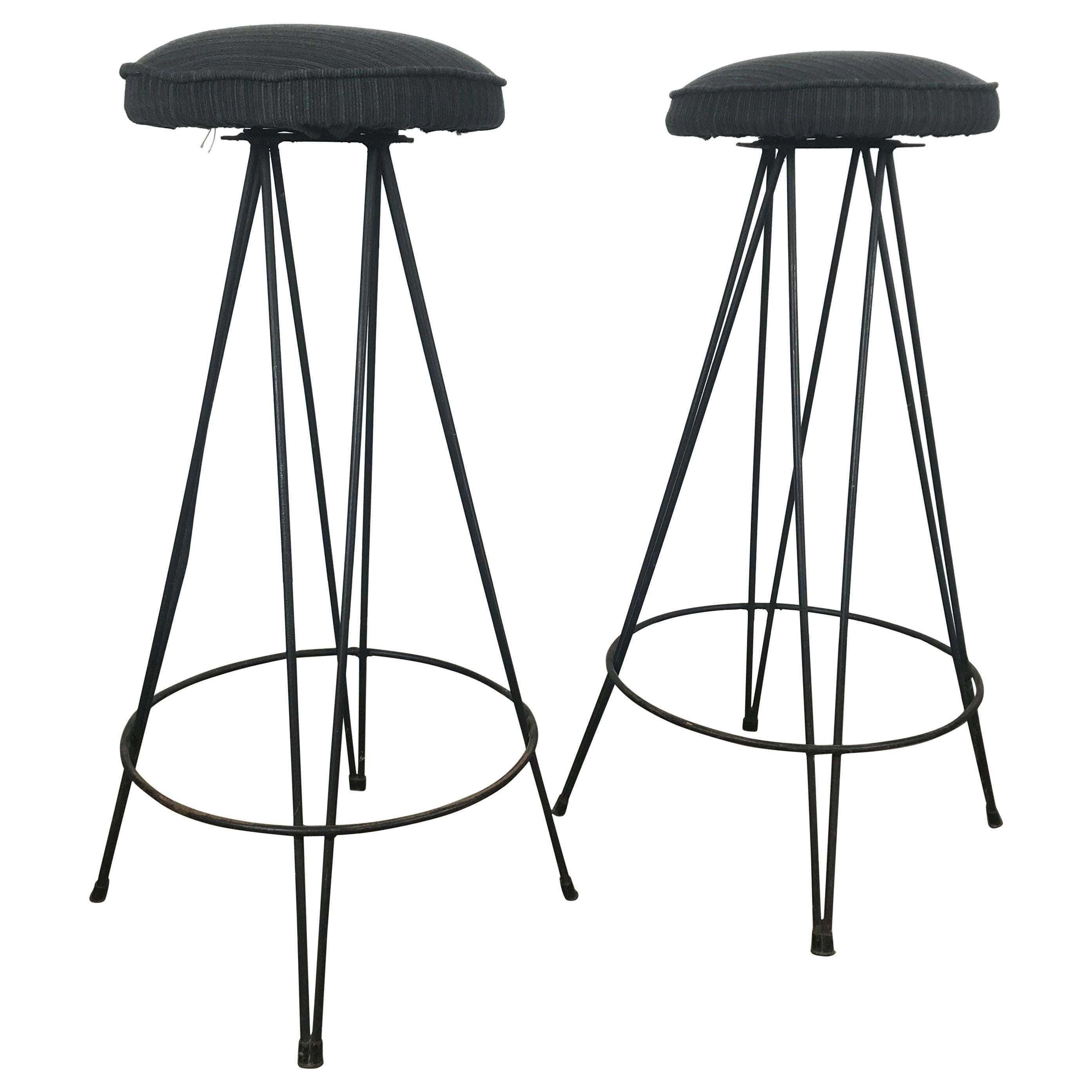 Magnificent Wrought Iron Bar Stools 57 For Sale On 1Stdibs Unemploymentrelief Wooden Chair Designs For Living Room Unemploymentrelieforg