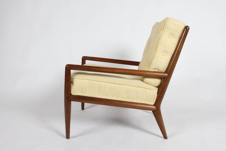 Pair of Classic T.H. Robsjohn-Gibbings for Widdicomb Lounge Chairs For Sale 3