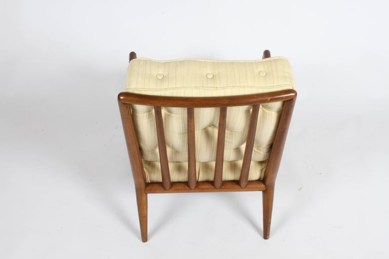 Pair of Classic T.H. Robsjohn-Gibbings for Widdicomb Lounge Chairs For Sale 6