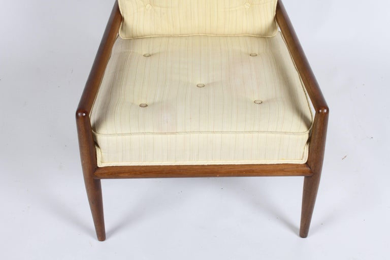 Pair of Classic T.H. Robsjohn-Gibbings for Widdicomb Lounge Chairs For Sale 7