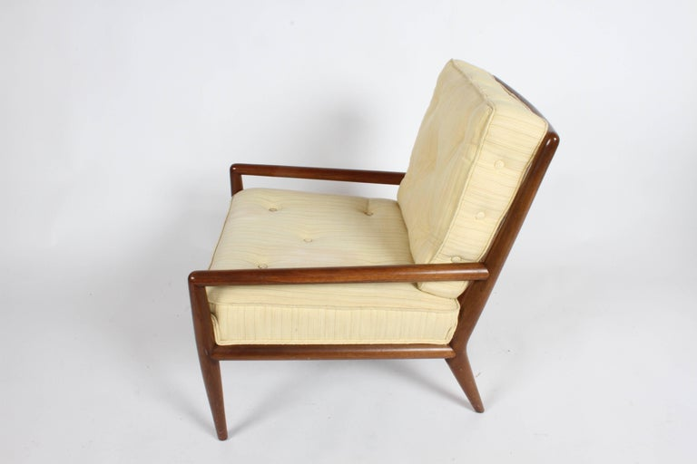Pair of Classic T.H. Robsjohn-Gibbings for Widdicomb Lounge Chairs In Good Condition For Sale In St. Louis, MO