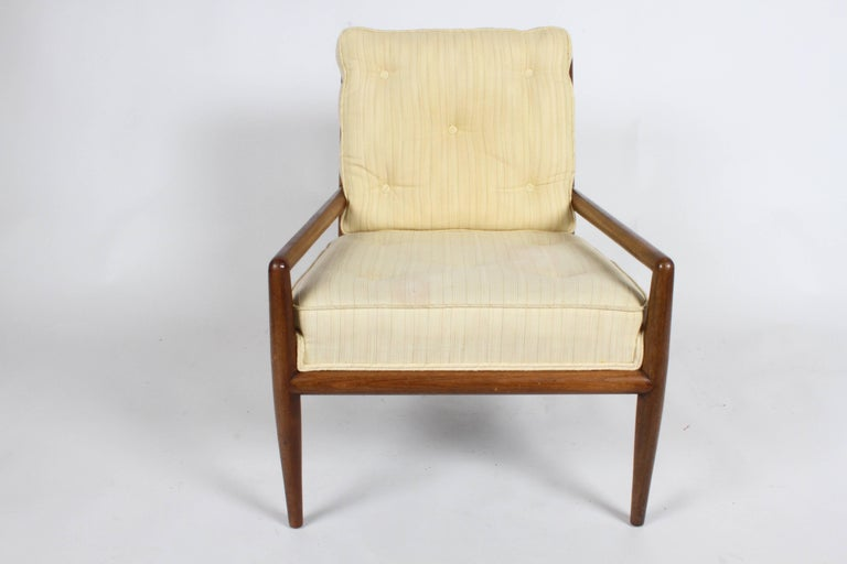 Pair of Classic T.H. Robsjohn-Gibbings for Widdicomb Lounge Chairs For Sale 2