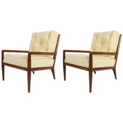 Pair of Classic T.H. Robsjohn-Gibbings for Widdicomb Lounge Chairs