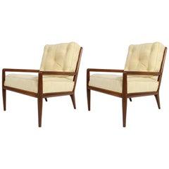 Pair of Classic T.H. Robsjohn-Gibbings for Widdicomb Lounge Chairs