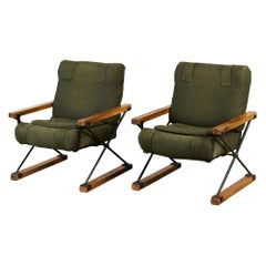 Pair of Cleo Baldon Lounge Chairs for Terra