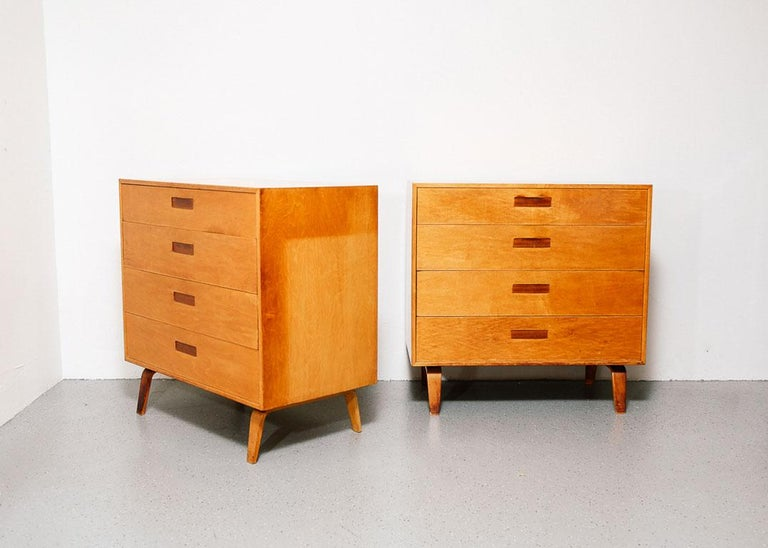 Pair of Clifford Pascoe Chest of Drawers In Good Condition For Sale In Brooklyn, NY