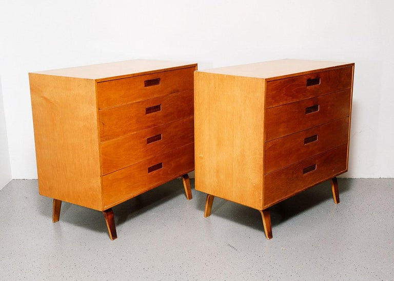 Mid-20th Century Pair of Clifford Pascoe Chest of Drawers For Sale
