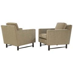 Pair of Club Chairs by Edward Wormley for Dunbar, circa 1950s