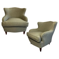 Pair of Cocktail Chairs by ISA