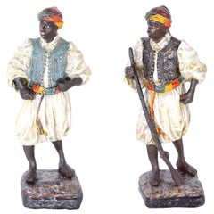 Pair of Cold Painted Orientalist Figures