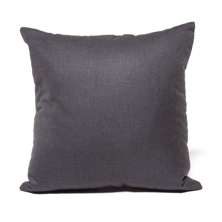 Contemporary Pair of Colorful Japanese Suiting Pillows For Sale