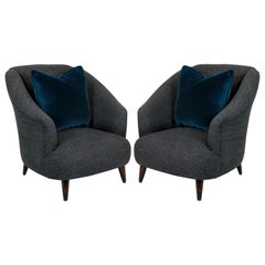 Pair of Comfortable Ulrich Lounge Chairs