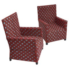 Pair of Contemporary Beaded Chairs in a Yoruba Style