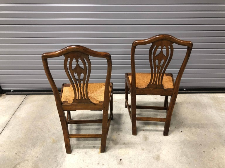 Pair of Continental 19th Century Chinoiserie Side Chairs For Sale 2