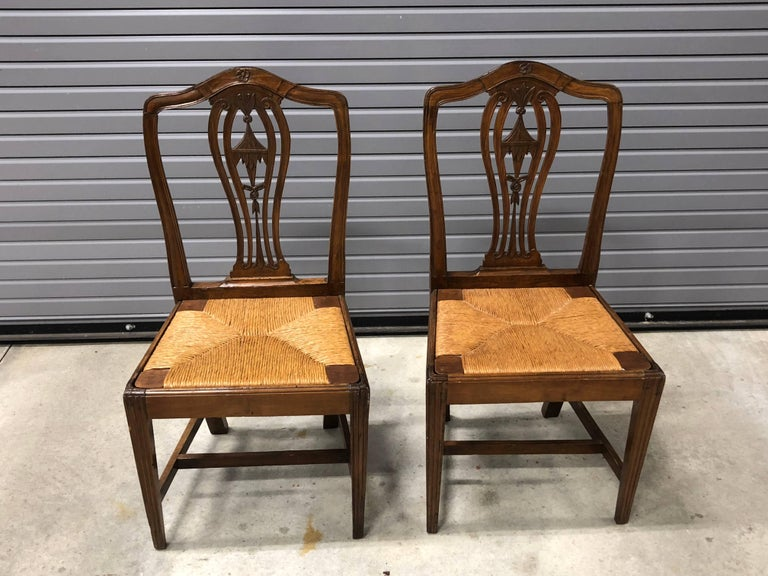 Pair of Continental 19th Century Chinoiserie Side Chairs For Sale 3