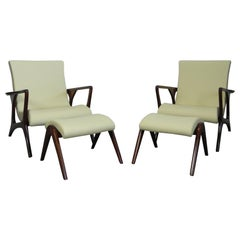 Pair of Contour Lounge Chairs