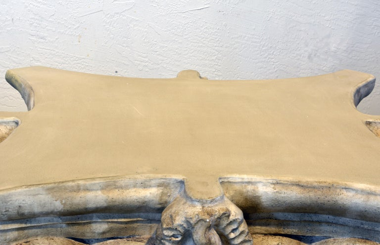 Pair of Corinthian Plaster Capitals after The Antique, Table Bases or Sculptures 1