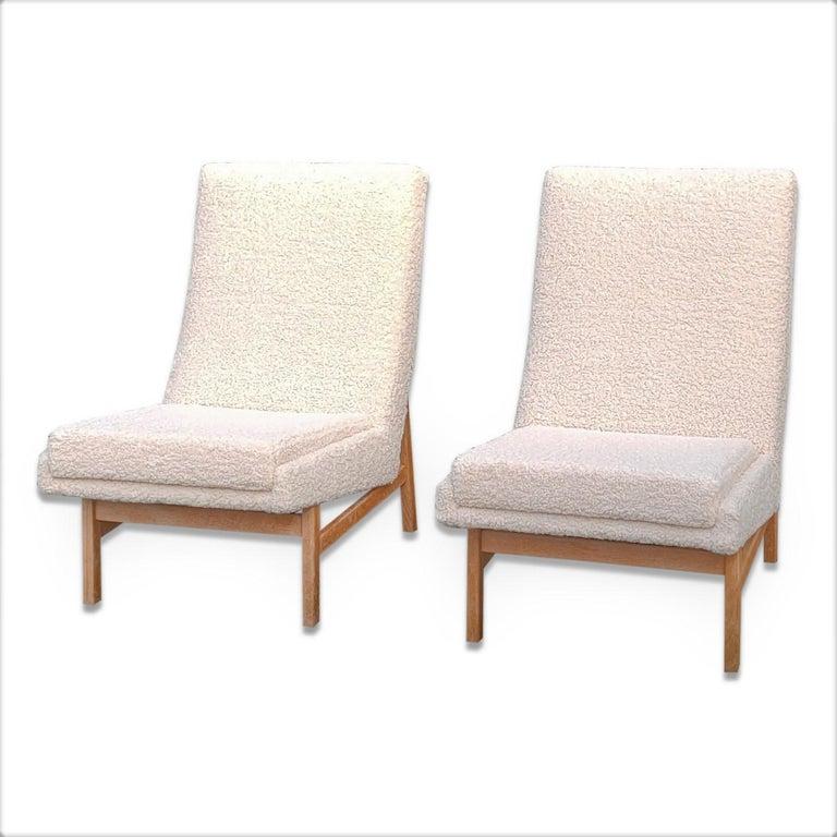 Freshly re-upholstered