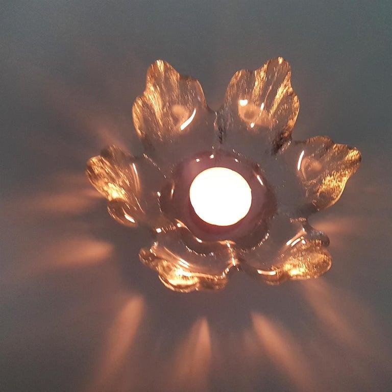 Swedish Pair of Crystal Glass Votive Candleholders by Kosta Boda for Orrefors, Sweden