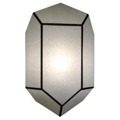 Pair of Crystallographic Sconces Serge Lacroix Creation