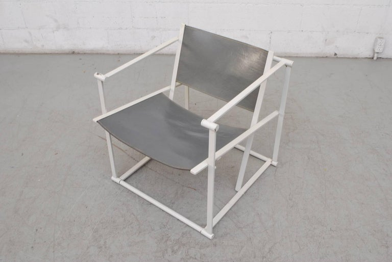 Mid-20th Century Pair of Cube Lounge Chair by Radboud Van Beekum for Pastoe For Sale