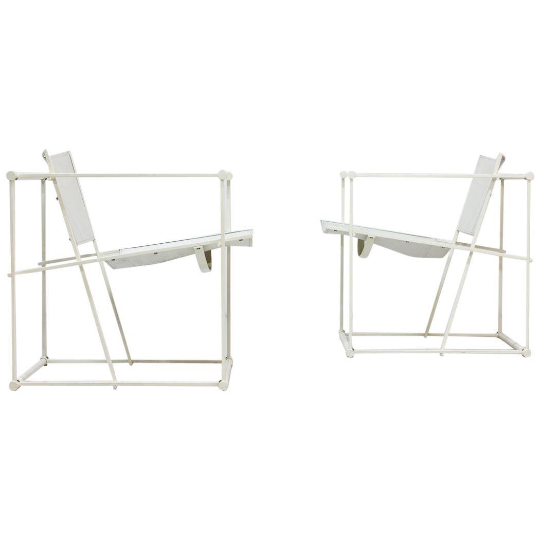Pair of Cubic Chairs by Radboud Van Beekum for Pastoe