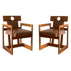 Pair of 'Cuiabá' Armchairs by Sergio Rodrigues