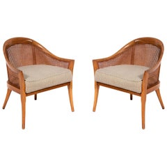 Pair of Curvaceous Harvey Probber Lounge Chairs