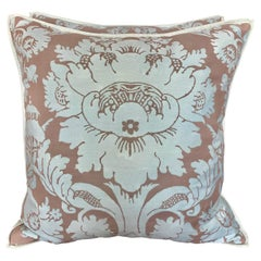 Pair of Custom Authentic Fortuny Pillows