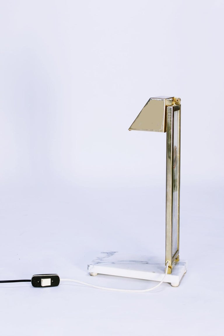 Late 20th Century Pair of Custom Design Table Lamps in Manner of Charles Rennie Mackintosh For Sale