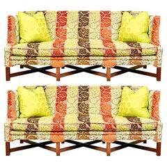 Pair of Custom John Roselli, O' Henry House Sofas