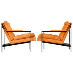 Pair of Cy Mann Lounge Chairs, 1970s