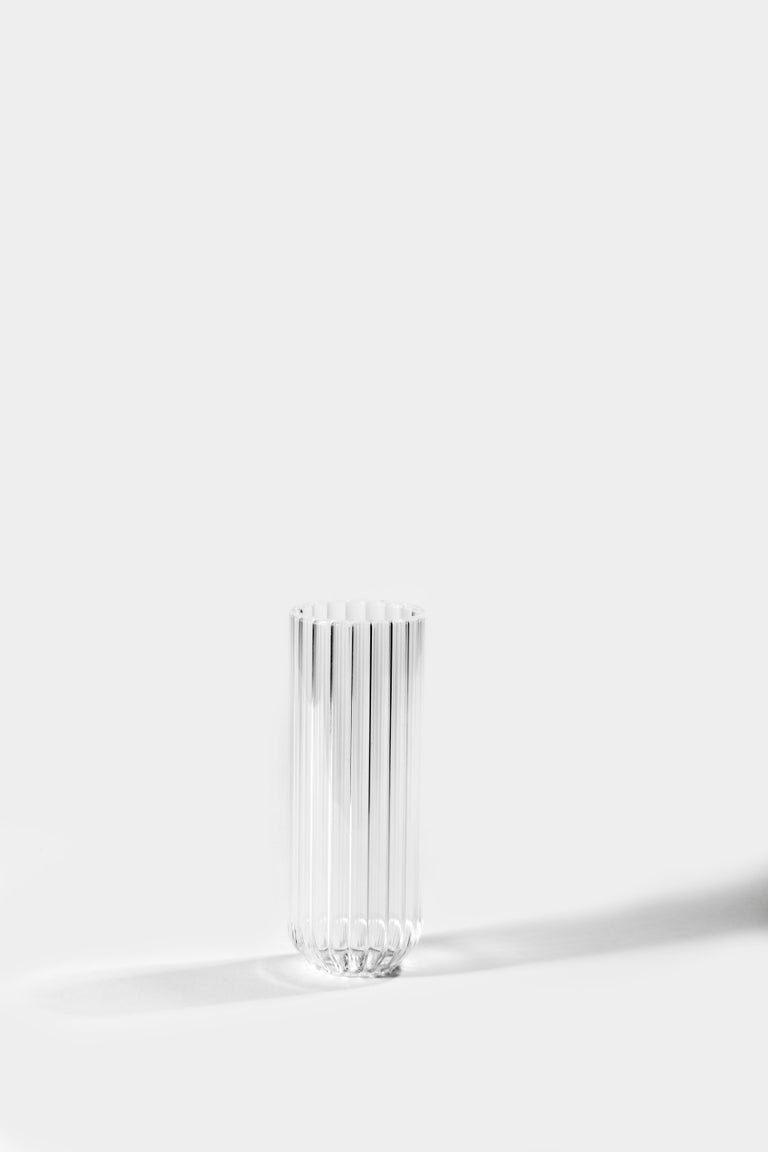 Modern EU Clients Pair of Czech Contemporary Dearborn Champagne Flute Glasses, in Stock For Sale