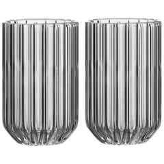 EU Clients Pair of Czech Contemporary Dearborn Shot Liqueur Glasses in Stock EU