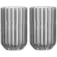 EU Clients Pair of Czech Contemporary Dearborn Shot Liqueur Glasses in Stock EU
