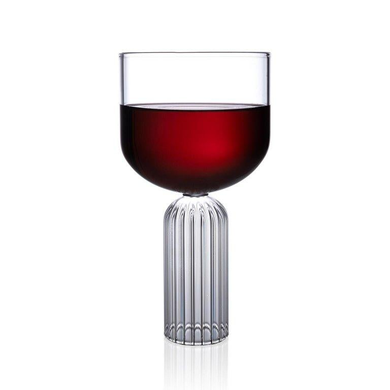 Hand-Crafted EU Clients Pair of Czech Contemporary May Large Glasses Handmade, in Stock EU For Sale