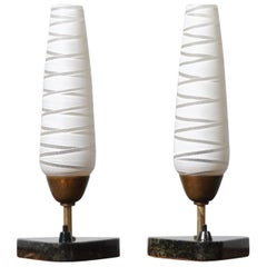 Pair of Danish 1950s Table Lamps