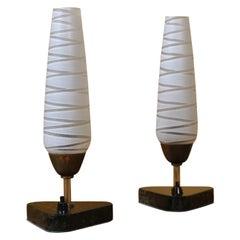 Pair of Danish 1950s Table Lamps