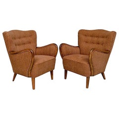 Pair of Danish Cabinetmaker Armchairs