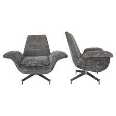 Pair of Danish Chairs by Fritz Hanzen, 1960s
